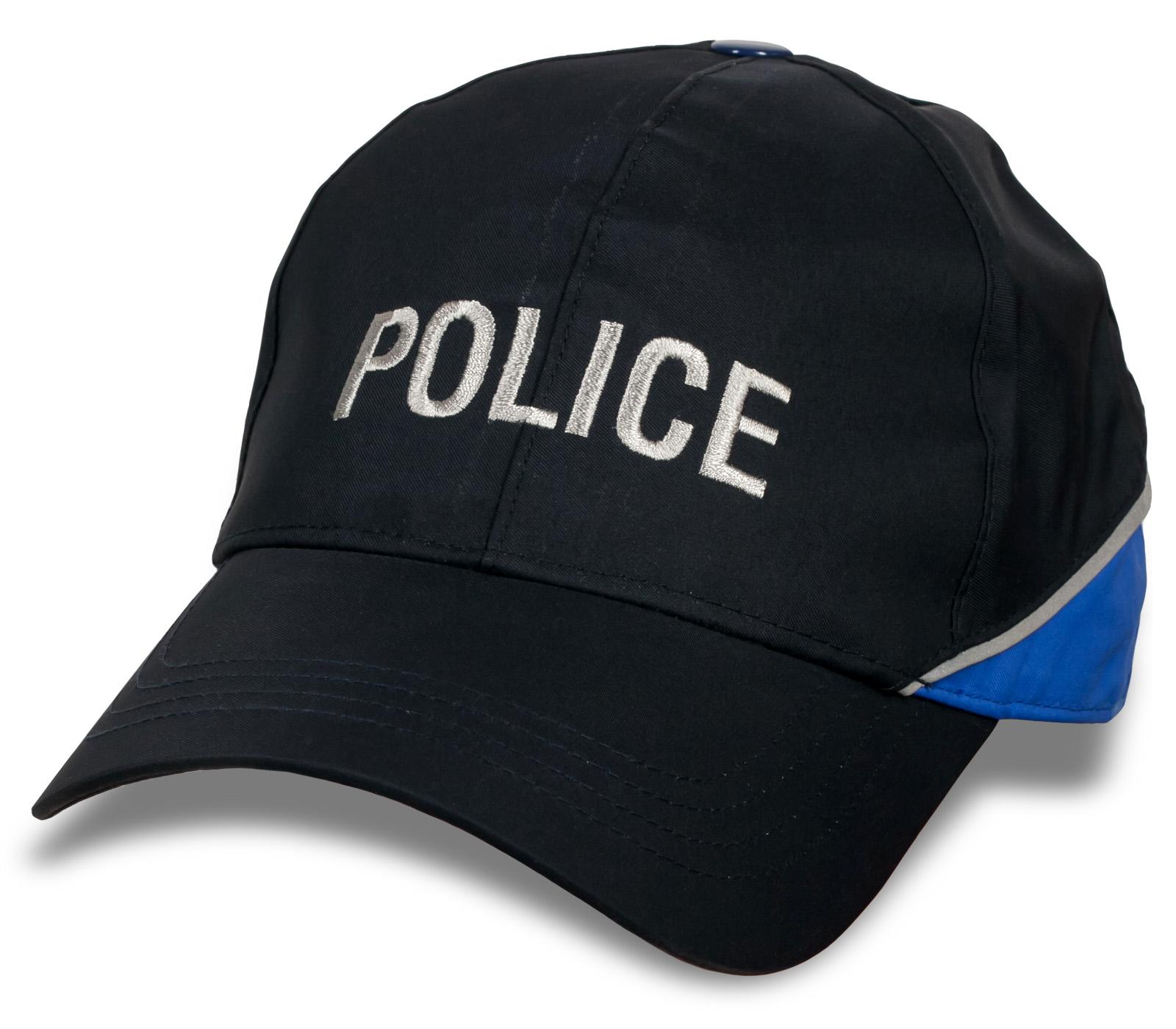 Оригинальная кепка с надписью Police