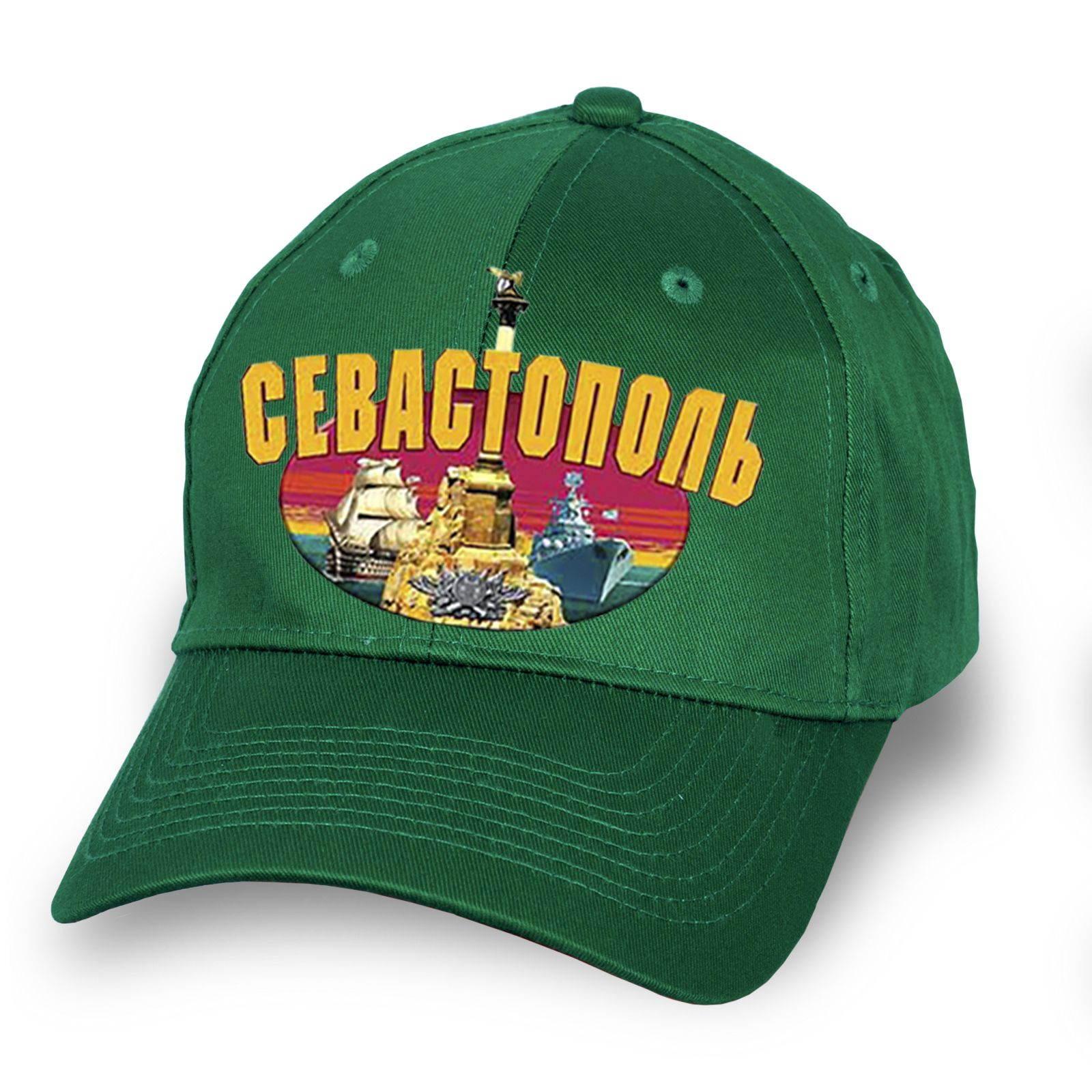 """Оригинальная кепка с принтом """"Севастополь"""" - заказать оптом с доставкой"""