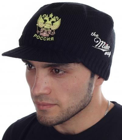 Оригинальная кепка-шапка Miller Way с нашивкой Герб России - купить выгодно