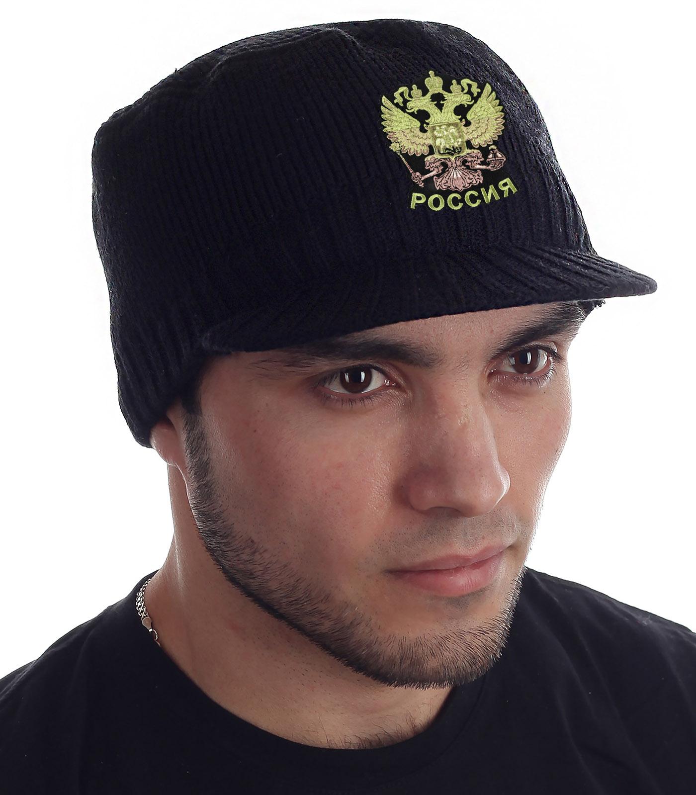 Купить оригинальную кепку-шапку Miller Way с нашивкой Герб России с доставкой в ваш город