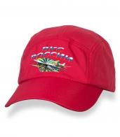Оригинальная красная бейсболка с термонаклейкой ВКС России
