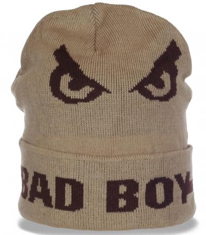Оригинальная молодежная мужская шапка от Bad Boy