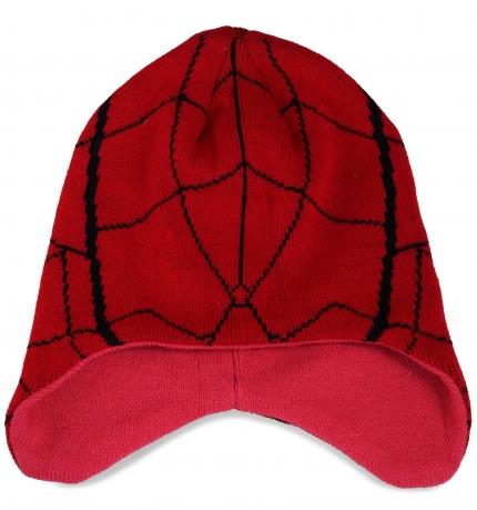 Оригинальная молодежная шапка с ушками
