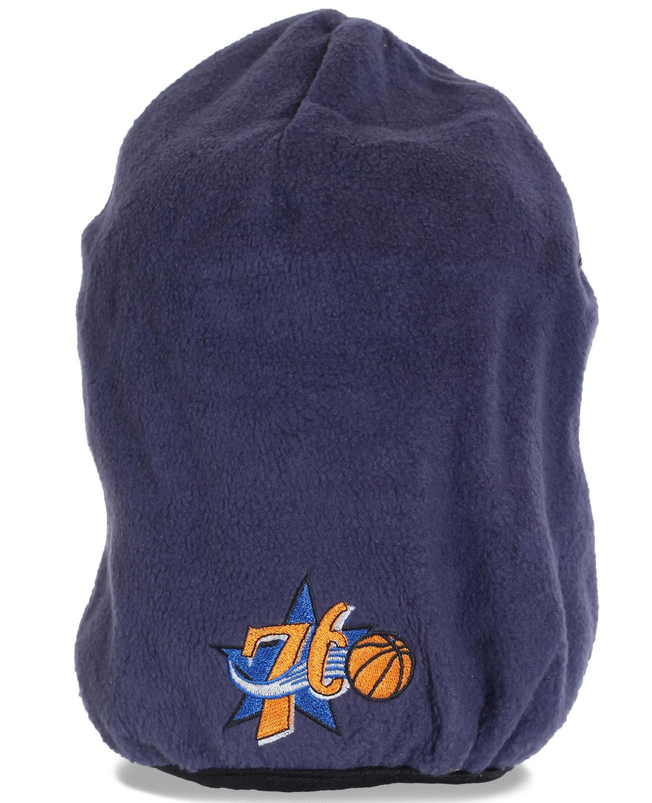 Оригинальная мужская флисовая шапка удлиненного фасона. Самое время купить и создать суперстильный и уникальный образ