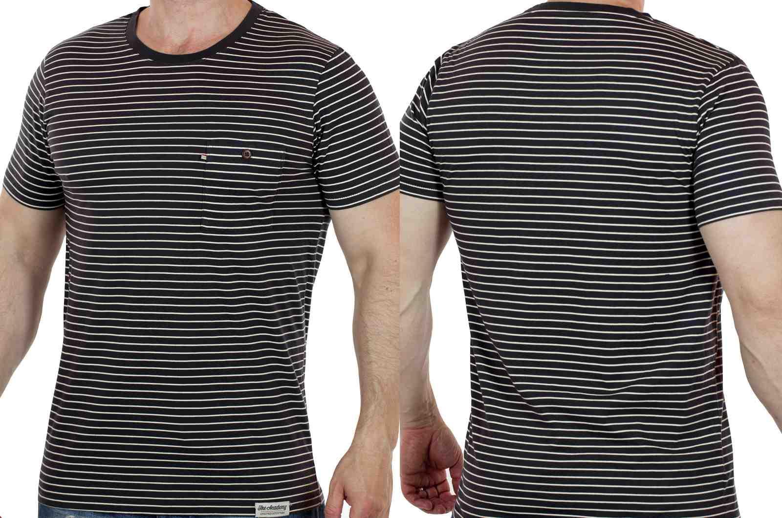 Оригинальная мужская футболка из США от Academy-двойной ракурс