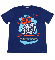 Оригинальная мужская футболка от Air Spass® для любителя путешествий