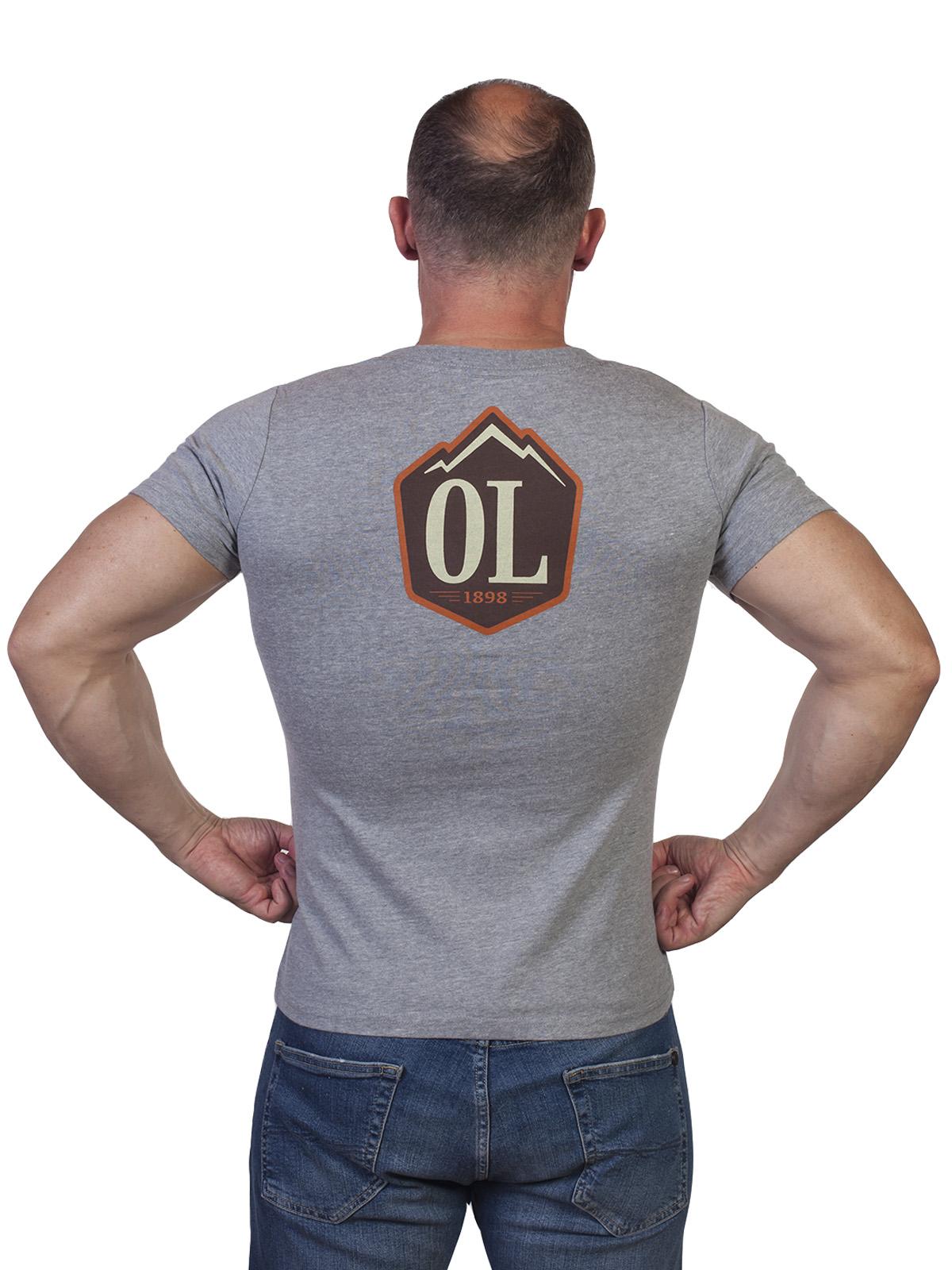 Оригинальная мужская футболка Outdoor life - купить в розницу