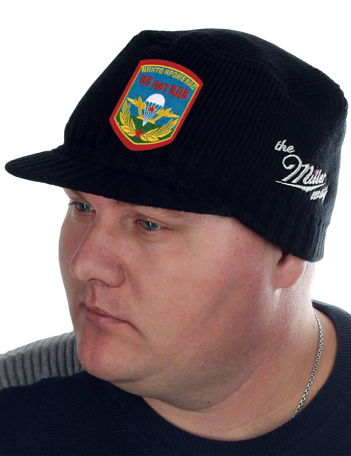 Оригинальная мужская шапка с козырьком Miller Way - купить в подарок