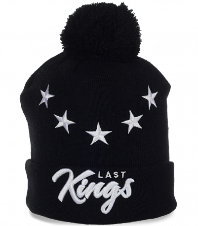Оригинальная мужская шапочка от бренда Last Kings