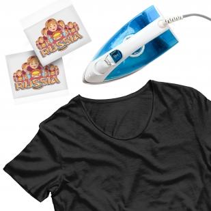 Оригинальная наклейка-термотрансфер на футболку - заказать онлайн