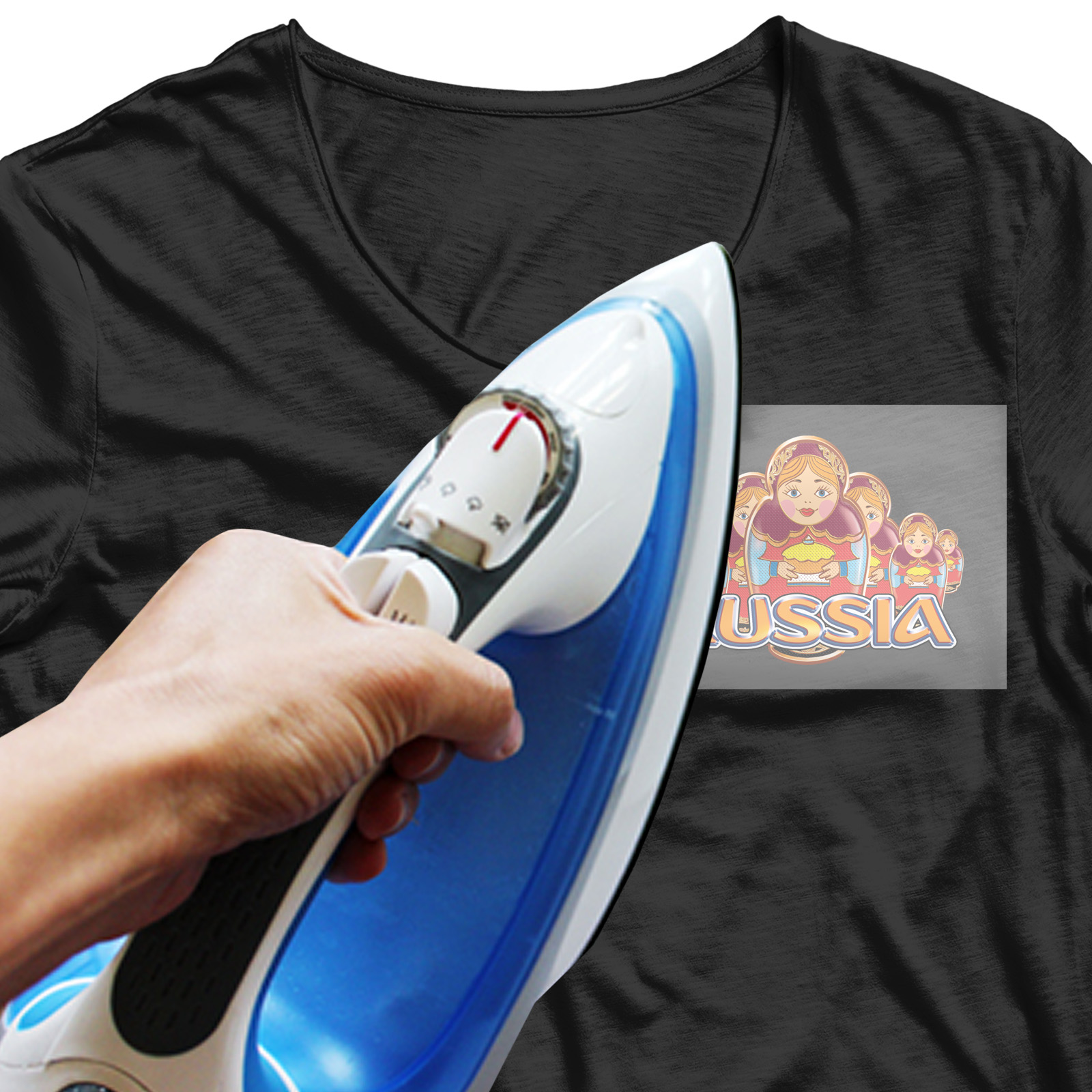 Оригинальная наклейка-термотрансфер на футболку - купить по низкой цене