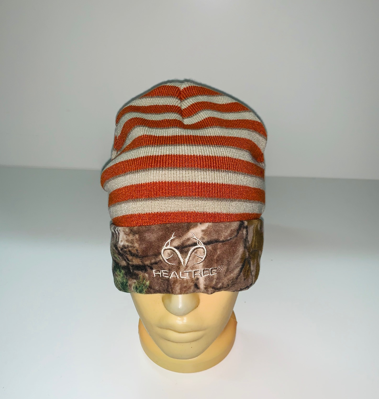 Оригинальная полосатая шапка Realtree