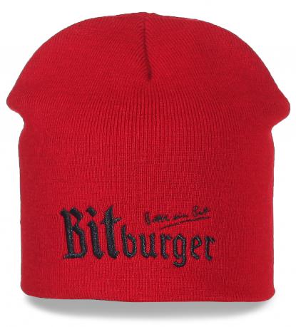 Оригинальная шапка BitBurger. Эксклюзивно для поклонников пенного!
