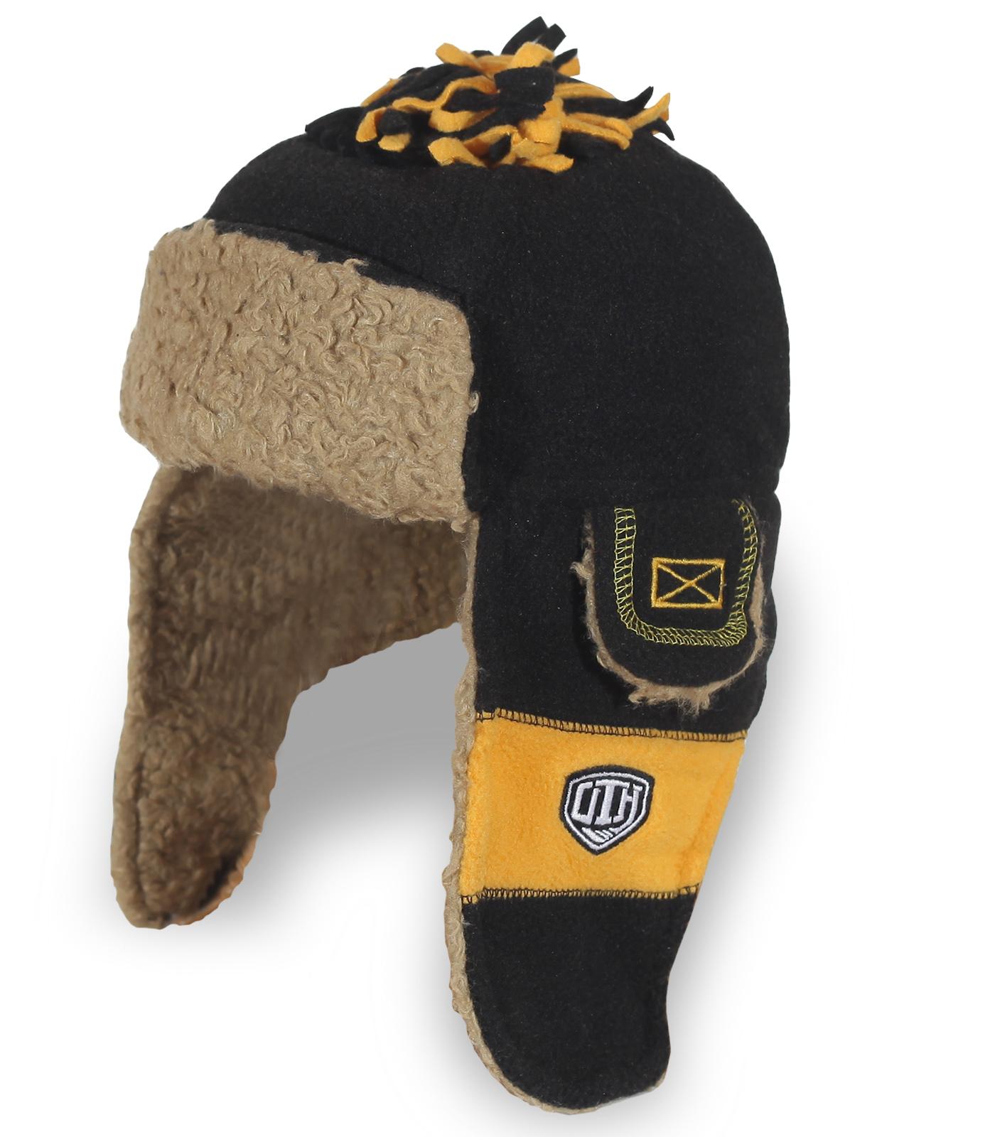 Оригинальная шапка-ушанка отличного качества