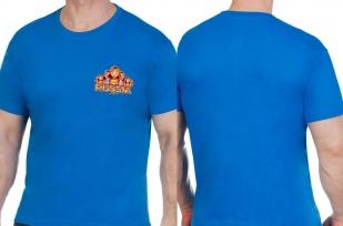 Оригинальная синяя футболка Россия - купить с доставкой