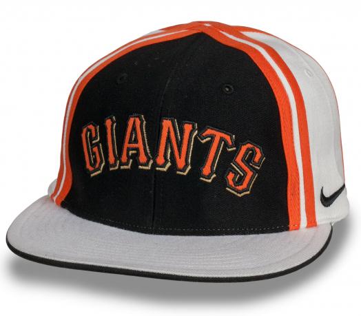 Оригинальная спортивная кепка с прямым козырьком