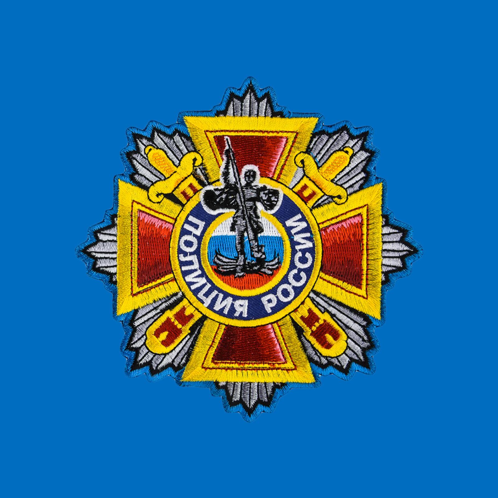 Оригинальная удобная футболка Полиция России