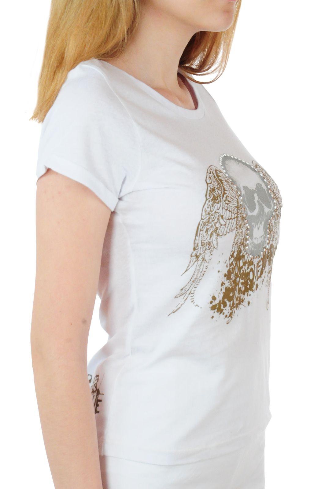 Оригинальная женская футболка Body Glove® - вид сбоку