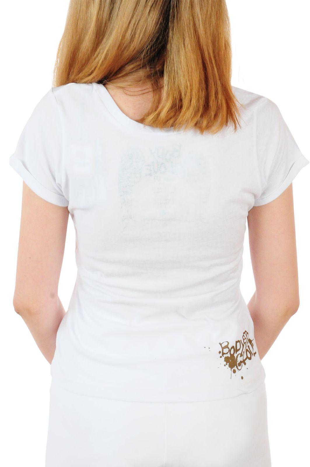 Оригинальная женская футболка Body Glove® - вид сзади