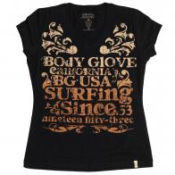 Оригинальная женская футболка от бренда Body Glove®