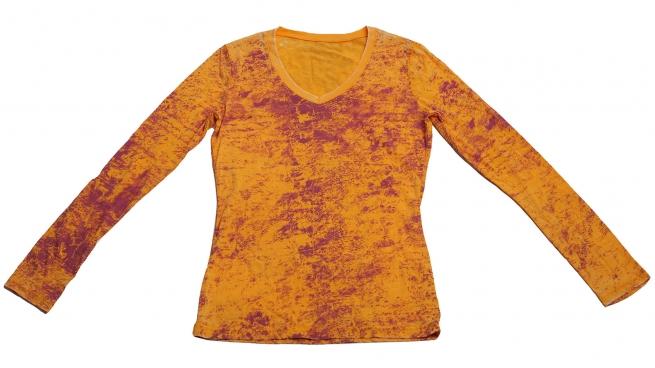 Оригинальная женская хлопковая кофточка – «Необыкновенный цвет»