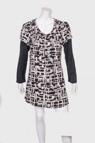 Оригинальное мини-платье ZB.