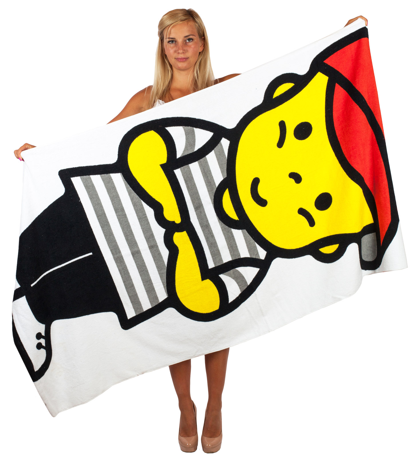 Оригинальное пляжное полотенце