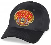 Патриотическая кепка из хлопка «Рожден в СССР»
