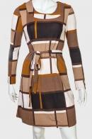 Оригинальное женское платье с поясом от Adagatty