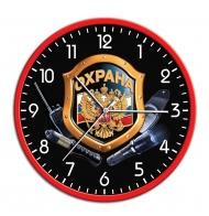 Оригинальные настенные часы Охрана