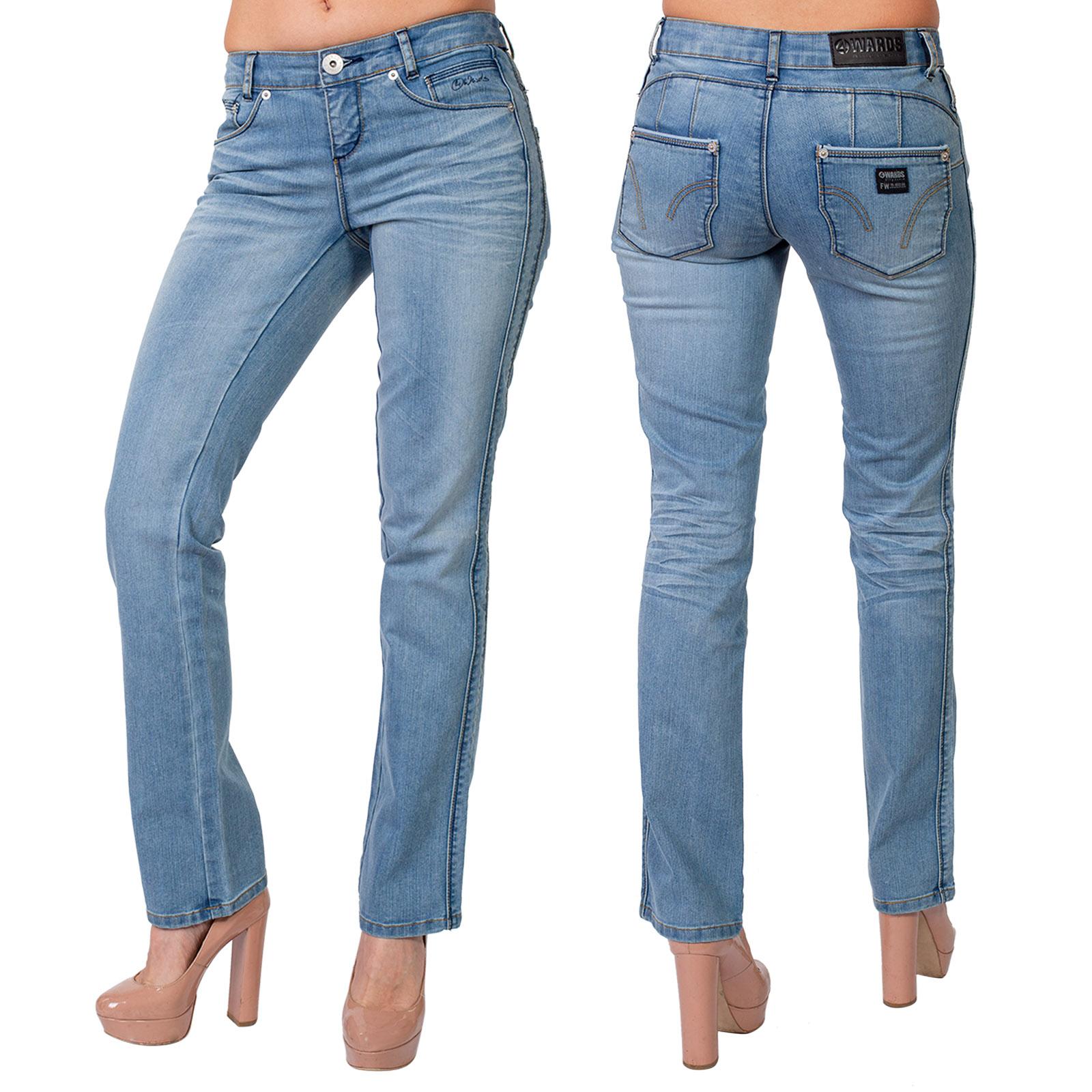 Оригинальные голубые джинсы 4wards