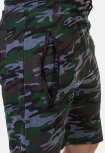 Оригинальные камуфляжные шорты с нашивкой РВСН - заказать в подарок