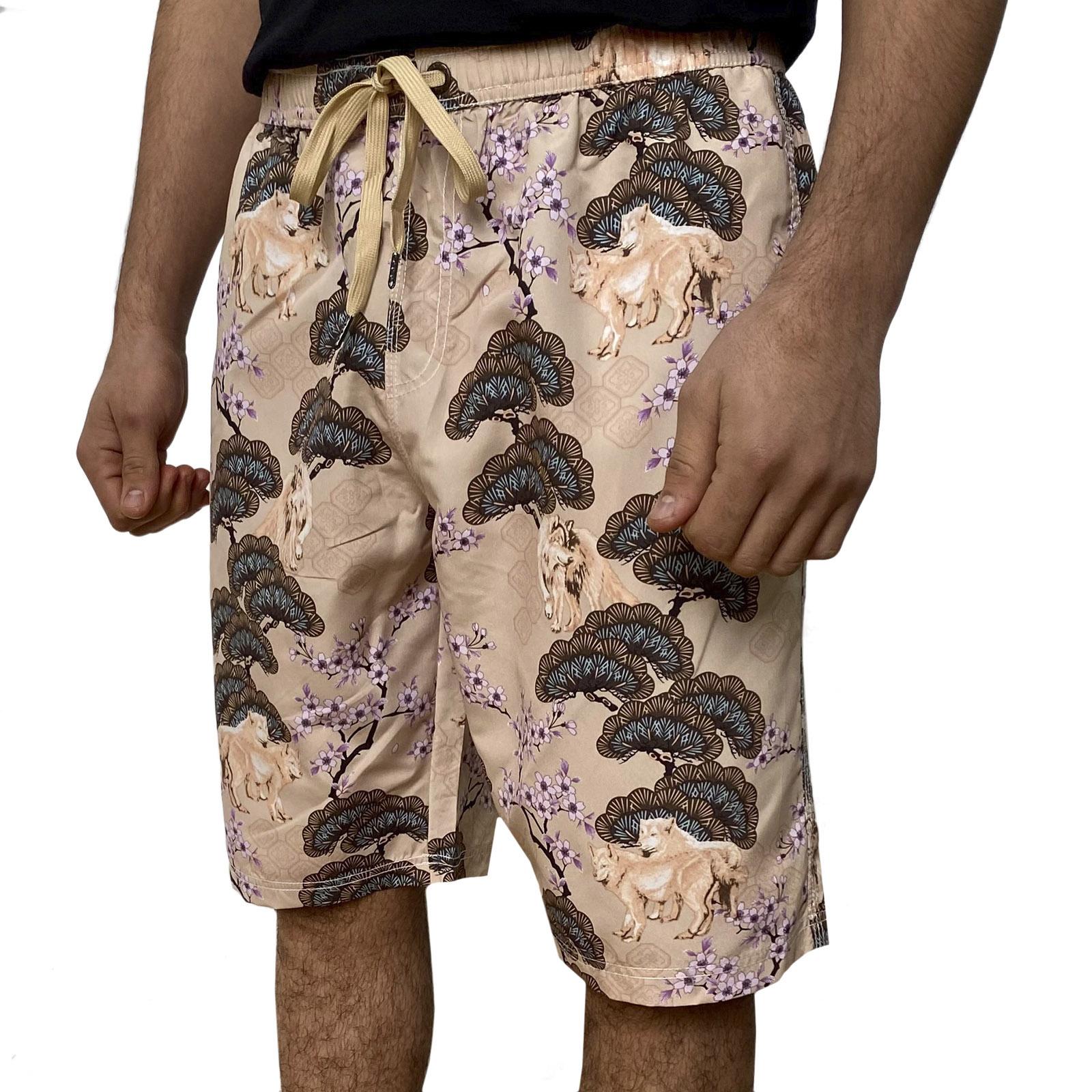 Оригинальные летние бордшорты для мужчин от Septwolves