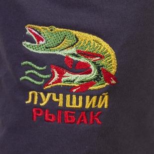Оригинальные мужские шорты с вышивкой Лучший Рыбак - лучшее качество, отличная цена, идеальный подарок! - купить выгодно