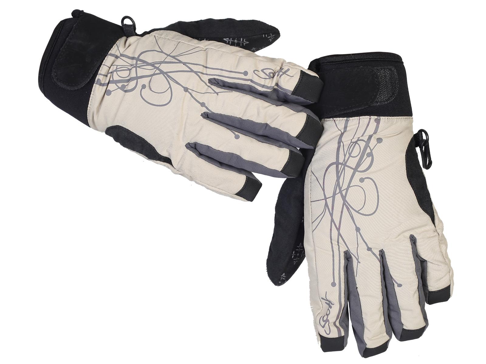 Фирменные перчатки Scott на зиму