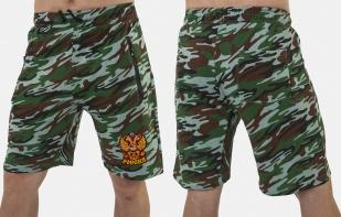 Оригинальные свободные шорты с нашивкой Россия - купить с доставкой
