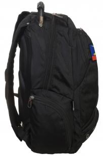 Оригинальный черный рюкзак с эмблемой РВСН купить в подарок
