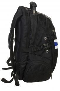 Заказать оригинальный черный рюкзак с нашивкой ФСО