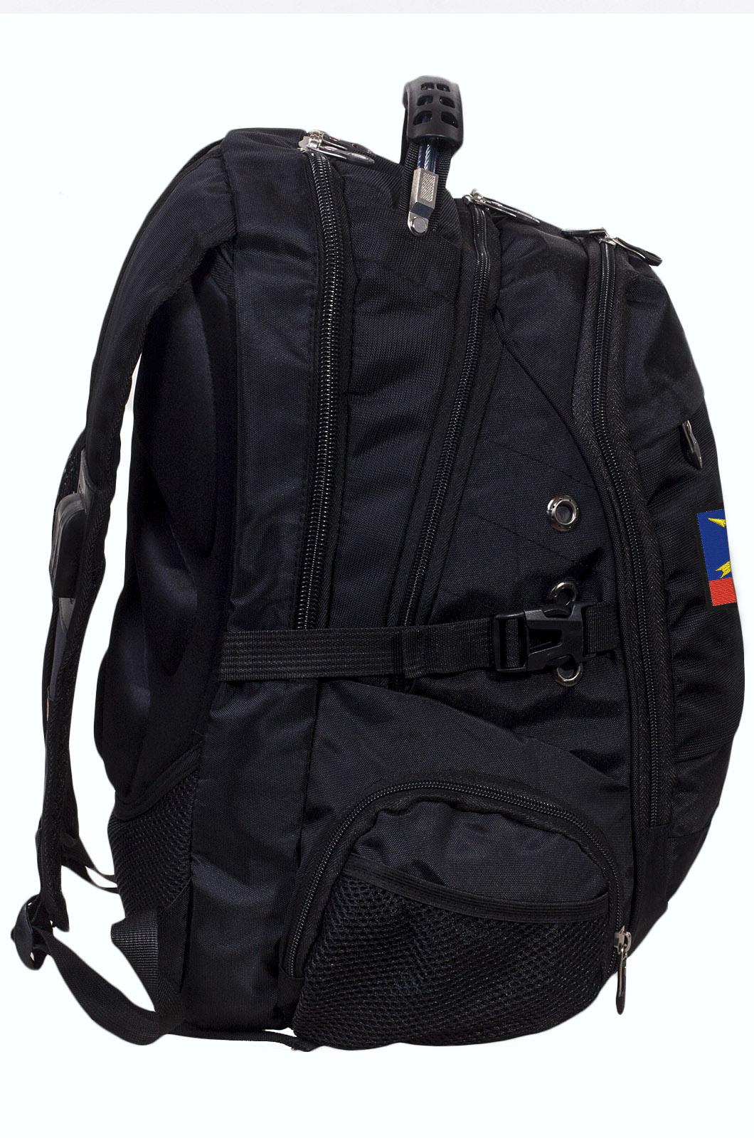 Заказать оригинальный городской рюкзак с эмблемой РВСН