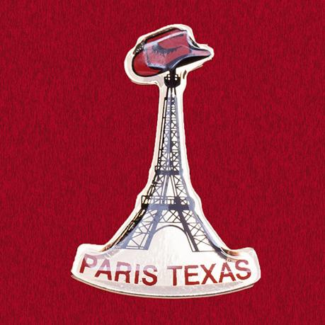 """Оригинальный значок """"Эйфелева башня в Париже"""", штат Техас"""