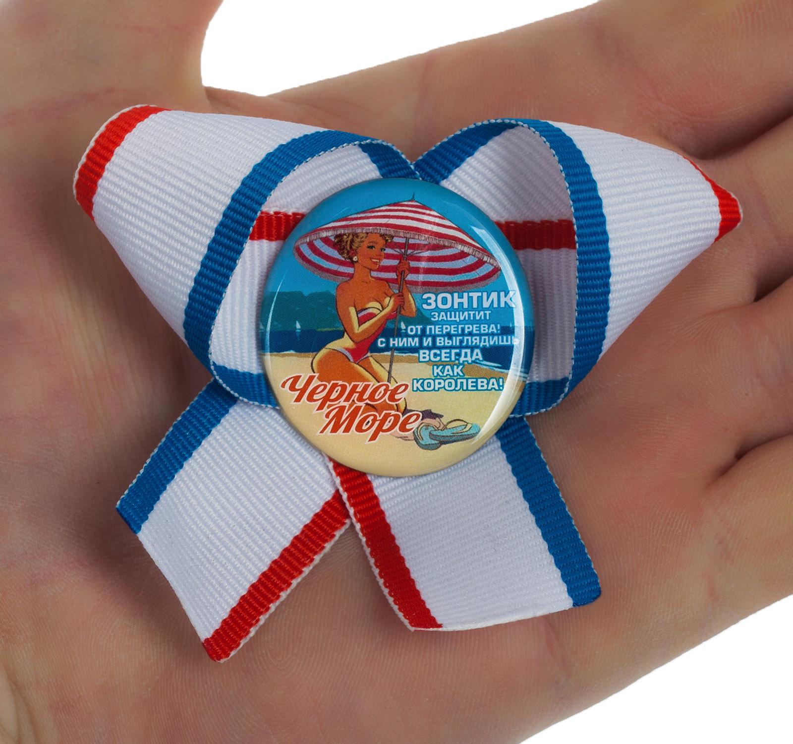 Заказать недорого сувенирные значки Черное море с доставкой