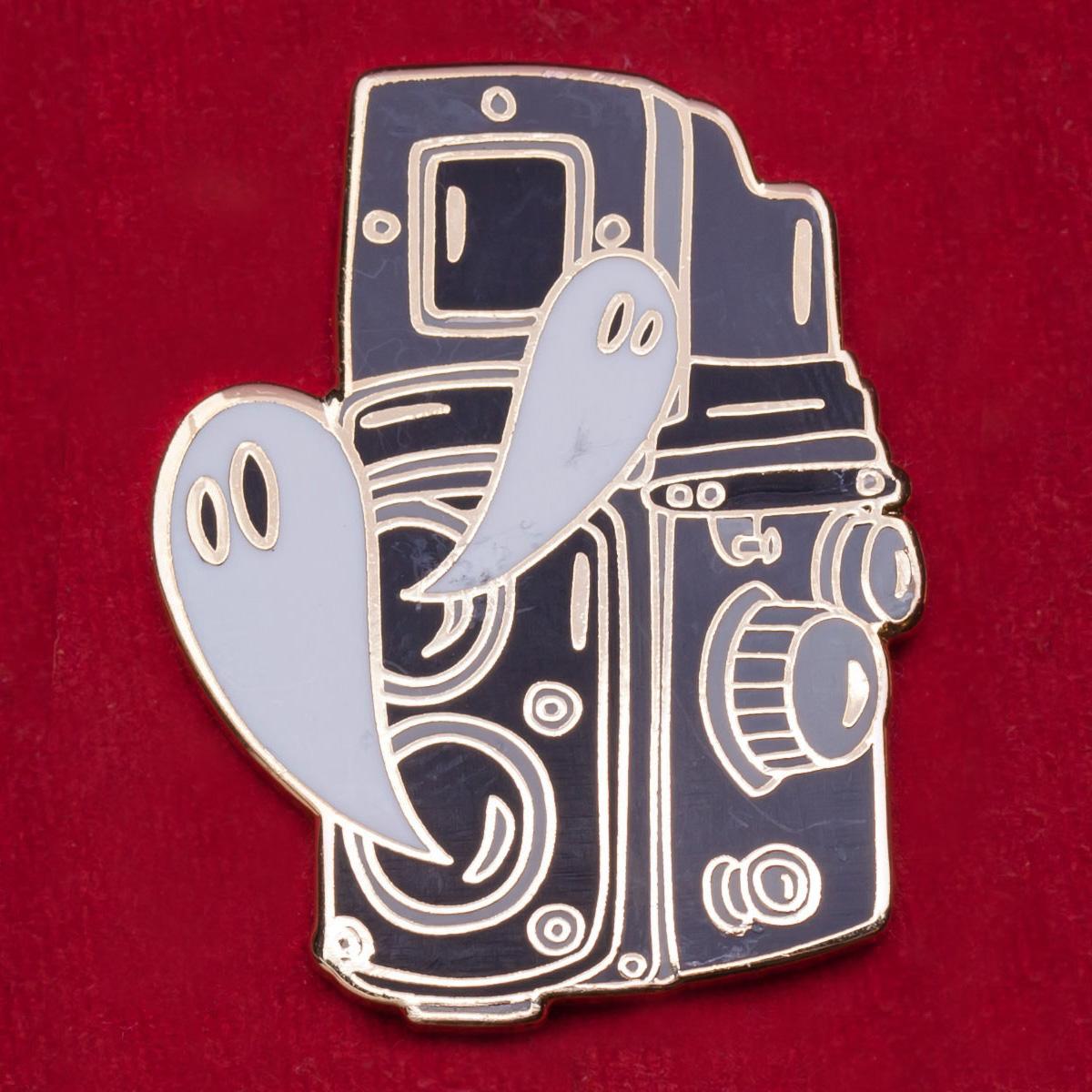 Оригинальный значок с винтажной камерой Rolleiflex