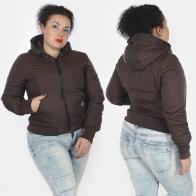 Короткая стеганая женская куртка Big Rooster (США).