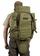 Оружейный военный рюкзак (65 литров, олива)