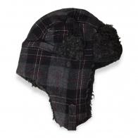 Осенне-зимняя мужская шапка с ушами