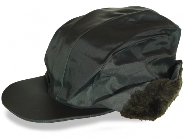 Осенняя шапка  с мехом