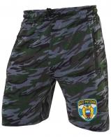 Особенные камуфлированные шорты с нашивкой ФСО
