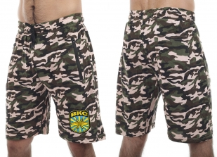 Особенные камуфляжные шорты с карманами и нашивкой ВКС - купить в Военпро