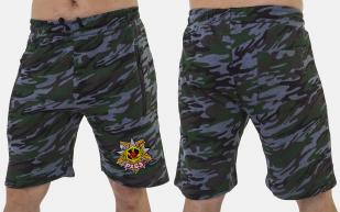 Особенные милитари шорты с карманами и нашивкой РХБЗ - купить в Военпро