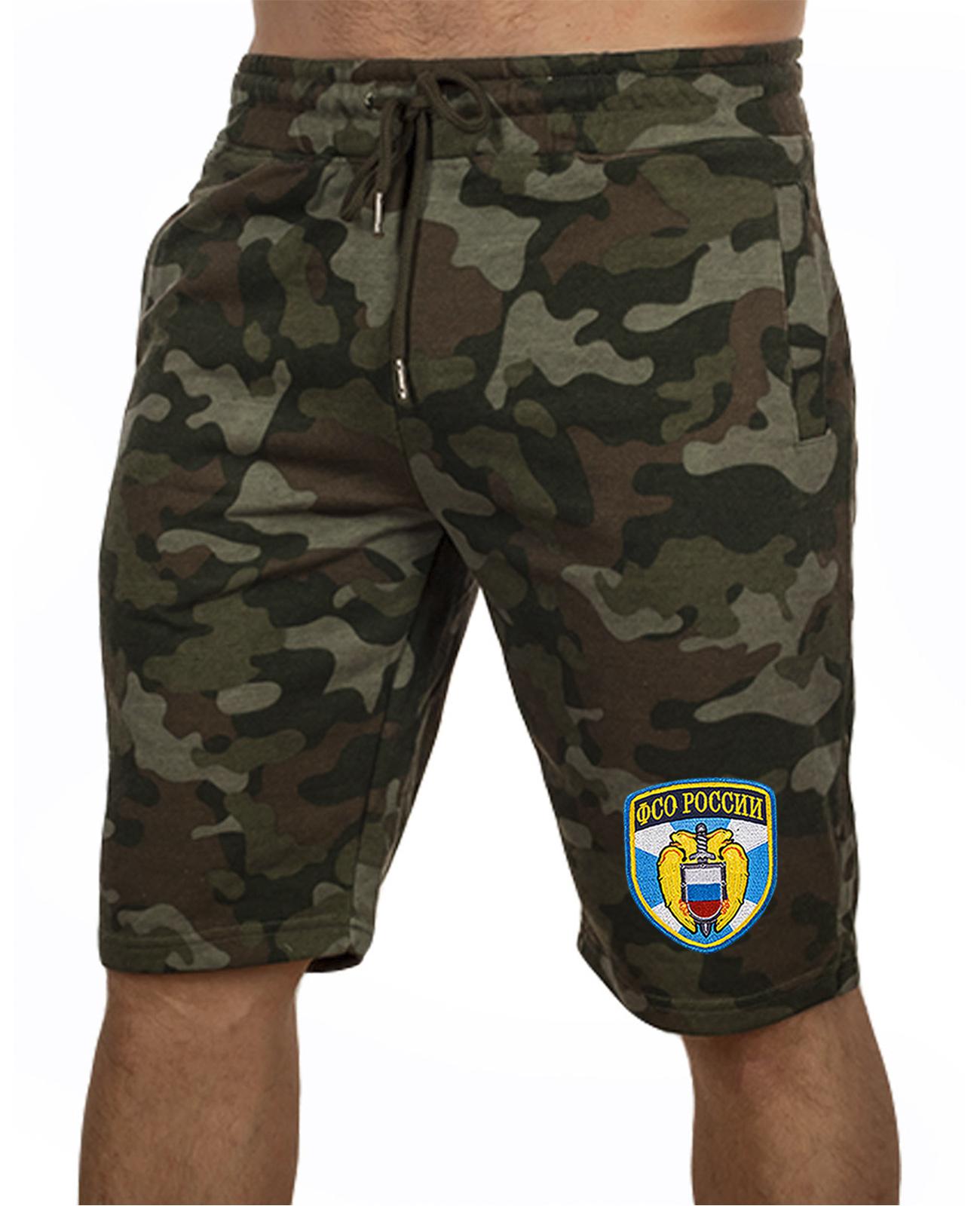 Купить особенные милитари шорты с нашивкой ФСО с доставкой онлайн